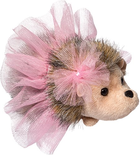 Cuddle Toys 629Pink Swirl BALLERINA HEDGEHOG Igel mit Ballet Tutu Kuscheltier Plüschtier Stofftier Plüsch Spielzeug
