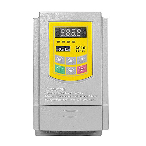 Preisvergleich Produktbild Frequenzumrichter AC10 Parker 10G-12-0070-BF, 1Ph-230V 1,5kW 7,0A, Filter C3