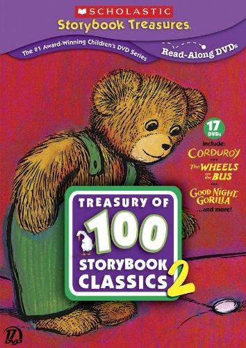 scholastic-storybook-treasures-treasury-of-100-storybook-classics-two-dvd-japan-import