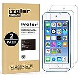 [2 Pack] iPod Touch 6G & 5G Protector de Pantalla, iVoler® Protector de Pantalla de Vidrio Templado Cristal Protector para Apple iPod Touch 6G & 5G -Dureza de Grado 9H, Espesor 0,30 mm, 2.5D Round Edge-[Ultra-trasparente] [Anti-golpe] [Ajuste Perfecto] [No hay Burbujas]- Garantía Incondicional de 18 Meses