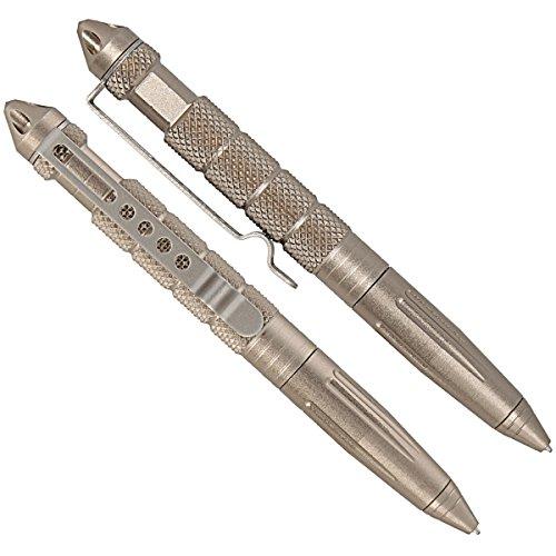 Tactical-Pen-Kubotan-Stift-aus-Edelstahl-mit-Glasbrecher-Multifunktionaler-Kugelschreiber-zur-Selbstverteidigung