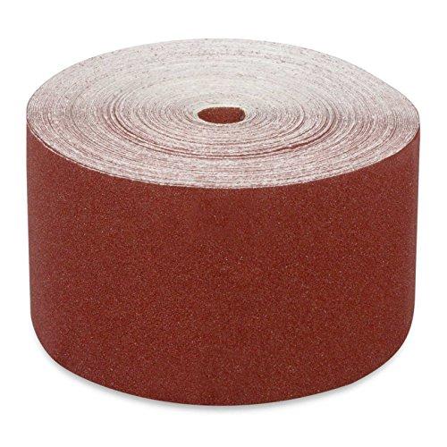 hanSe Schleifpapier Rolle 50 Meter Rollenschleifpapier 115mm Körnung 60
