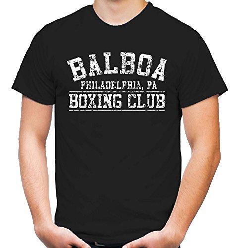 Balboa Boxing Club T-Shirt | Herren | Rocky | Bekleidung | Ivan Drago | Geschenk | Kult | M1 (XL)