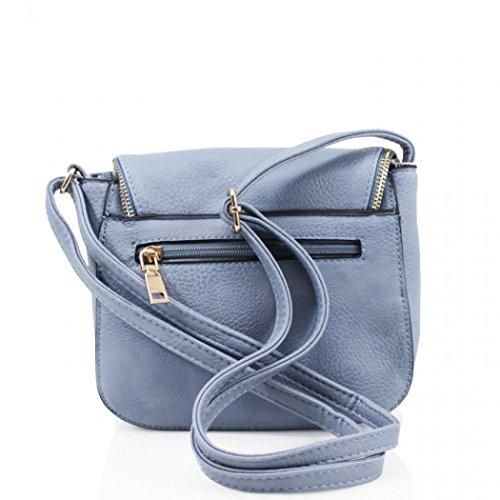 LeahWard Soft Tassel Taschen für Frauen Nizza Cross Body Bag Damen Schulter Handtaschen CW1024 (Klein Schwarz H18cm x W21cm x D7cm) Klein Schwarz H18cm x W21cm x D7cm