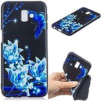 Everainy Samsung Galaxy J6+/J6 Plus 2018 Hülle Silikon Bumper Gummi Prägen Muster Cover Hüllen für Galaxy J6+/... preisvergleich bei billige-tabletten.eu