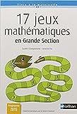 17 jeux math?matiques en grande section