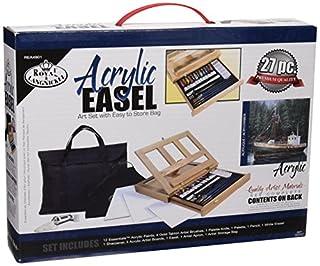 Royal and Langnickel REA4901 - Juego de Pintura acrílica con Caballete y Bolsa (B002GALZCY) | Amazon Products