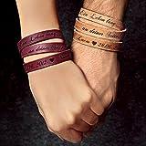 schenkYOU® Wickelarmband mit Gravur gestalten...Vergleich
