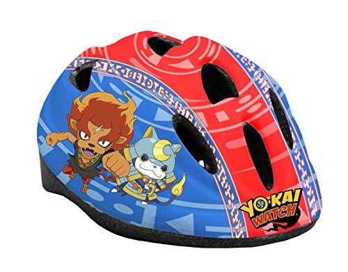 Toimsa Heroes Casque de vélo modèle Yo-Kai Watch, 10906, Bleu