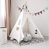MAIBEI Kids Play Tent Tunnel mit Spielzeug für Jungen Girls Babies und Kleinkinder Prinzessin Castle Zelt für Mädchen Pop bis Zelt rosa Qualität Sicherheit Geburtstagsgeschenk Indoor Outdoor,Whitelace