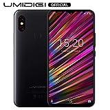 UMIDIGI F1, Smartphone Débloqué 4G Android 9.0 Ecran 6.3 Pouces FHD+128 Go, Octa-Core, Helio P60 AI, Batterie 5150 mAh, Double SIM 4G Volte, NFC, Double Caméras 16MP+8MP