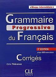 Grammaire progressive du Francais intermediaire 3ed klucz