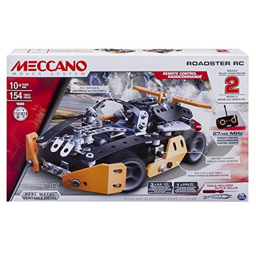"Meccano 6028127 ""Sports activities Roadster RC"" Constructing Set"
