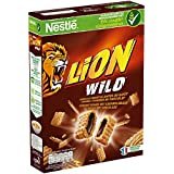 Nestlé Lion Wild - Céréales du Petit Déjeuner - Paquet de 410 g - Lot de 4