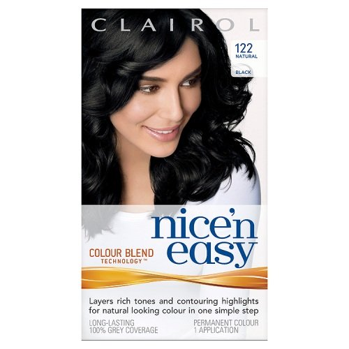 Clairol Nice'n'Easy Hair Colourant 122 Natural Black
