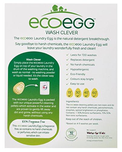 Ecoegg Wäsche-Ei für 720 Waschgänge, geruchsfrei - 2