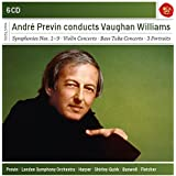 André Previn Conducts Vaughan Williams Symphonies 1-9, Concerto And More
