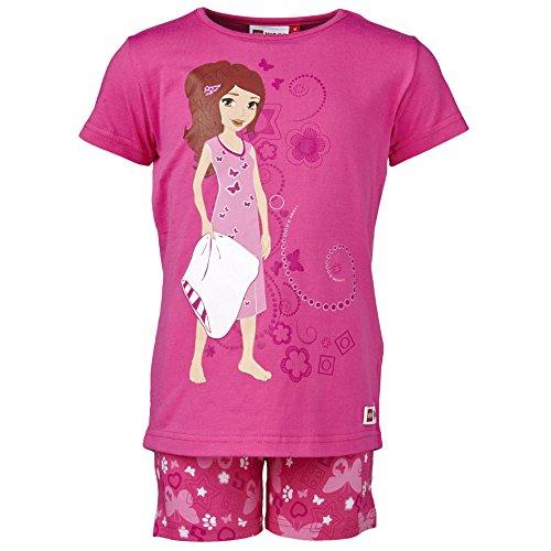 LEGO Wear Mädchen Zweiteiliger Schlafanzug ALBERTINE 909 - Pyjama, Gr. 116, Rosa (PINK 461)