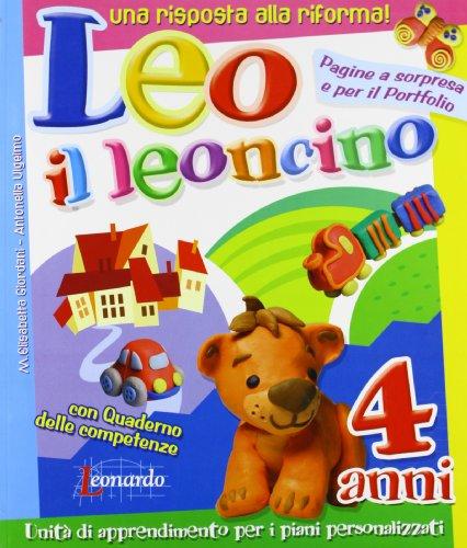 Leo il leoncino 4 anni