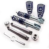 maXpeedingrods Amortiguadores Deportivos para Fiat 500 Ford Ka Desde 2007 Shock Coilover Kits