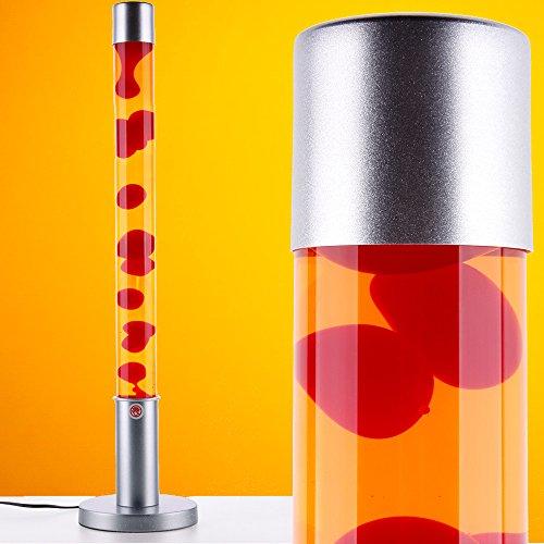 MIA Light Lavalampe ↥760mm| Gelb & Rot | Retro | Lavaleuchte Magmalampe Magmaleuchte Lavalicht