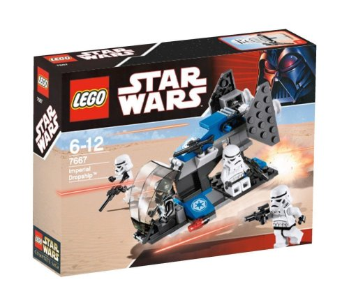 LEGO Star Wars 7667 Imperial Dropship - Dropship Imperial