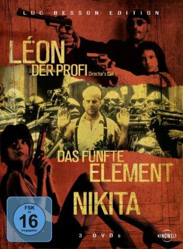 Bild von Luc Besson Edition - Leon Der Profi, Das fünfte Element, Nikita [3 DVDs]