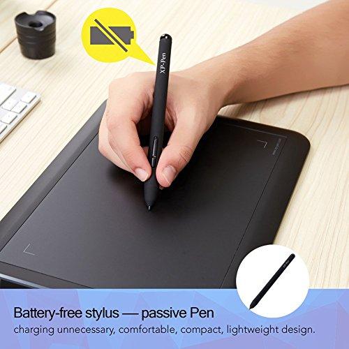 XP-Pen PN01 Eingabestift für Grafiktabletts - 3