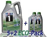 Motoröl - Mobil 1 ESP FORMULA 5W-30, 7 Liter (5 LTS + 2 x 1 Lt)