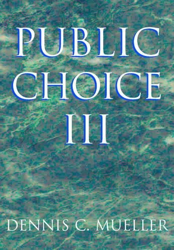 Public Choice III 3rd Edition Paperback