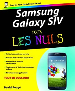 Samsung Galaxy S IV Pour les Nuls par [ROUGE, Daniel]
