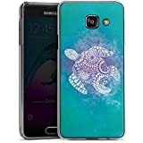 Samsung Galaxy A3 (2016) Housse Étui Protection Coque Mandala Turtle Tortue Motif