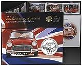 Mini Auto Münze Geschenk Display, Geschenkset (2009 Alderney £ 5 Münze)