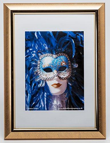 pela4gld-fba Premium Easy Loader Telaio A4certificato/foto/poster frame in oro, con vetro frontale