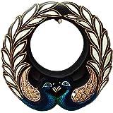Handicraft Village Decorative Handicraft Wall Mirror For Home Decore, Gift Purpose (HV1773_Mullti-Colour)