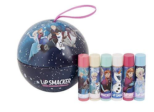 Lip Smacker Disney Reine des Neiges Lumières du Nord Boule de Noël Set de 6 Baumes à Lèvres