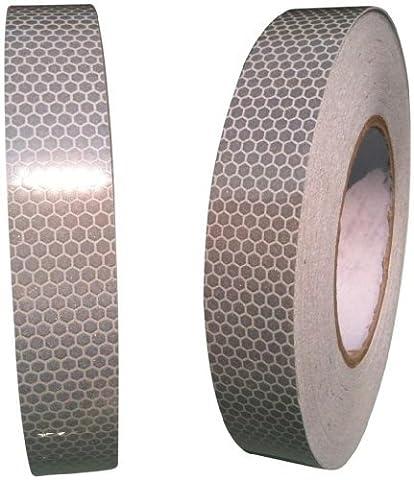 High Intensity Grade White Reflective Tape 25mm X
