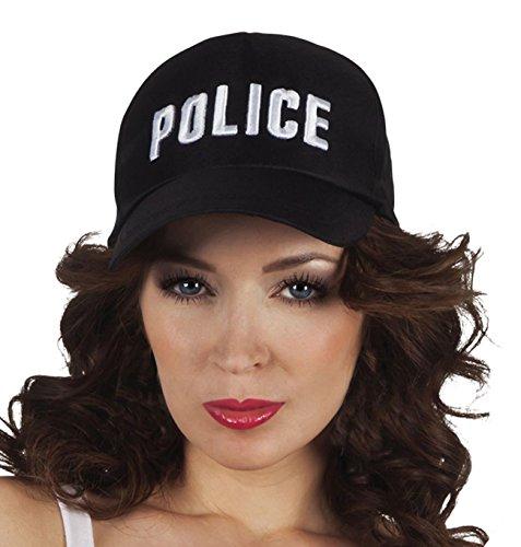 Boland 97046 Erwachsenenmütze Police, One Size