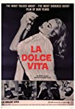 Dolce Vita, La - Anita Ekberg - Filmposter Kino Movie Das süße Leben - Grösse 68x98 cm