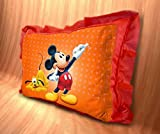 #10: Pillow 3D by MUKESH Handicrafts for Baby and Kids | Rectangle Shape | Cartoon Printed | Soft Toys Pillow | Red Pillow Size 14 x 20 inches