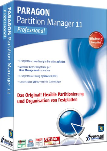 Paragon Partition Manager 11 Professional - 22 Ppm-usb