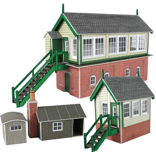Metcalfe Pn133 N Gauge Signal Box Set for sale  Delivered anywhere in UK