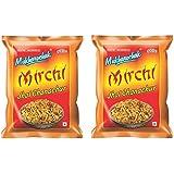 Mukharochak Mirchi Jhal Chanachur (Pack of 2 , 200 gm each)