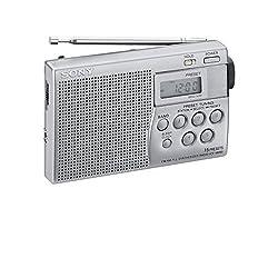 Sony ICF-M260 - Tragbares UKW/MW Digitalradio, Silber