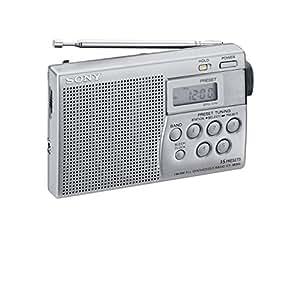 Sony ICF-M 260/S Tragbares Radio silber