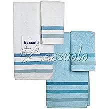 Set asciugamani bagno bassetti - Set asciugamani bagno ...