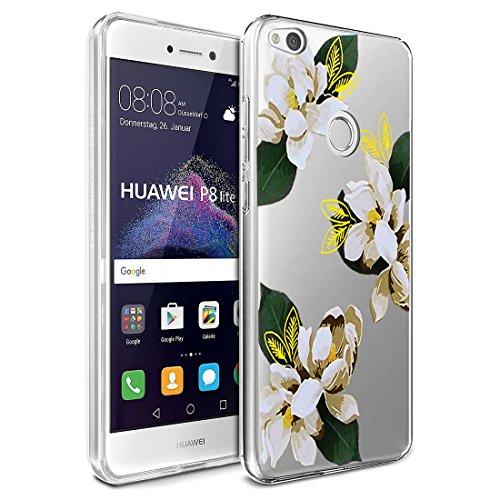 Huawei P8 Lite 2017 Hülle, Huawei P8 Lite 2017 Handyhülle Silikon Schutzhülle Case Durchsichtig Silikonhülle Transparent TPU Bumper Schutz Handytasche Schale für Huawei P8 Lite 2017 (Elefant 4)