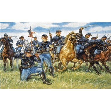 Italeri Union Cavalry - American Civil War - 1:72 Plastic