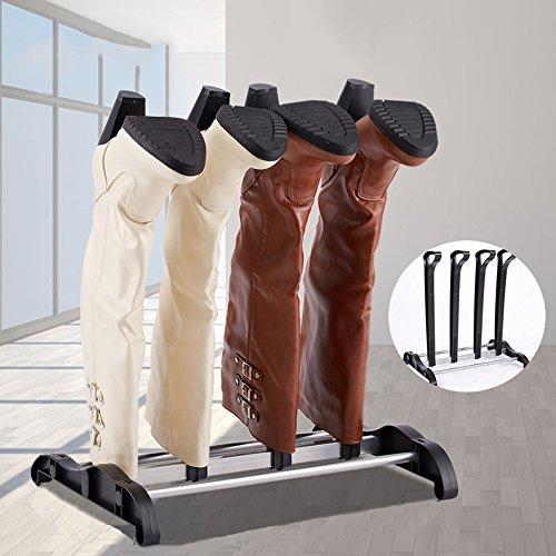 QFFL Le support créatif européen de chaussure / appui simple en plastique de bottes / salle de dortoir de ménage soutient le cadre de support Range-chaussures ( taille : 43cm )