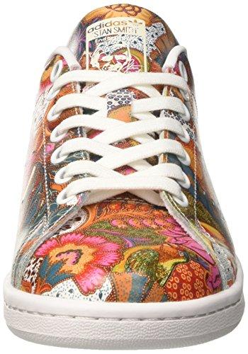 adidas Damen Stan Niedrige Sneaker Mehrfarbig (Ftwwht/Ftwwht/Owhite)